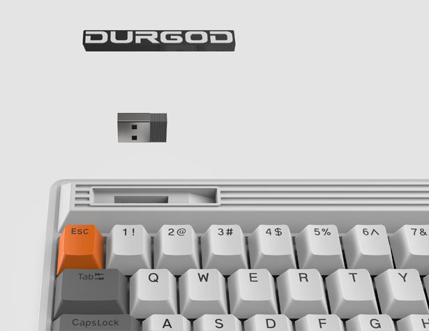 Durgod Fusion Mechanical Keyboard to Celebrate The Classic 80's Design