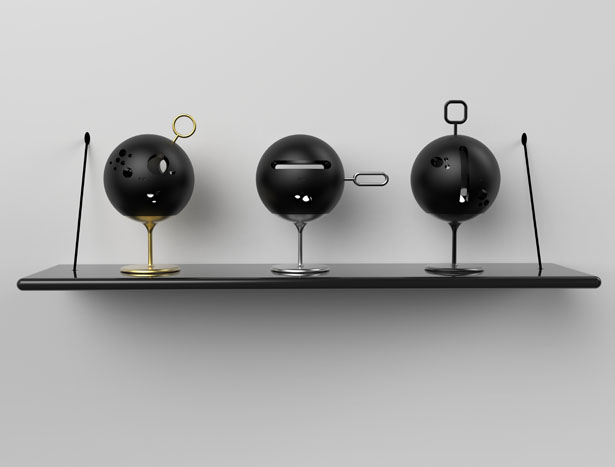 DUST Natural Lamps with Technology by Subinay Malhotra