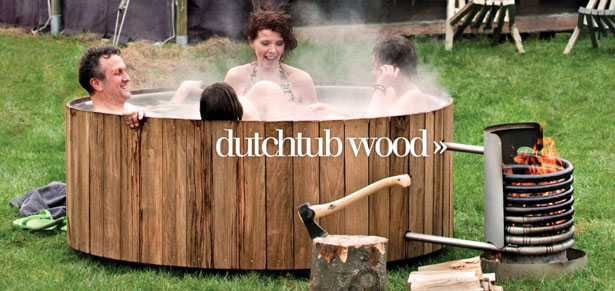 Dutchtub Wood by Floris Schoonderbeek