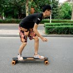 DX Skateboard Concept with Built-in Camera and a Remote Control