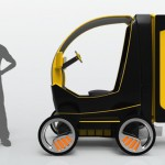 e-Cargo Box : Electric Cargo Vehicle for Quick and Easy Deliveries In A Crowded City
