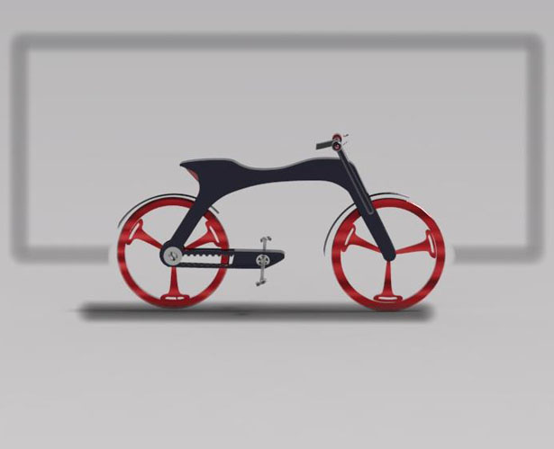 E-centric Bicycle by Manpreet Bhattee