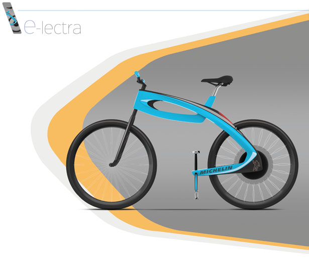 E-lectra Concept Bicycle by Tautvydas Bertasius