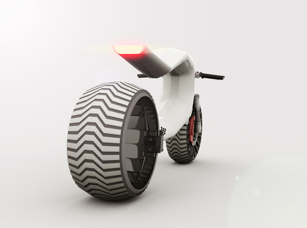 E-MX Electric Motorcycle by Umo Masada