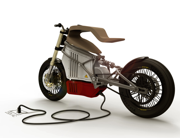 e-Raw Electric Bike by Expemotion