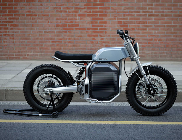 eScrambler Electric Motorcycle by Switch Motorcycles