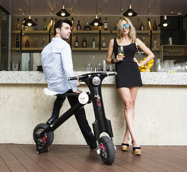 E.T Scooter Foldable Electric Scooter