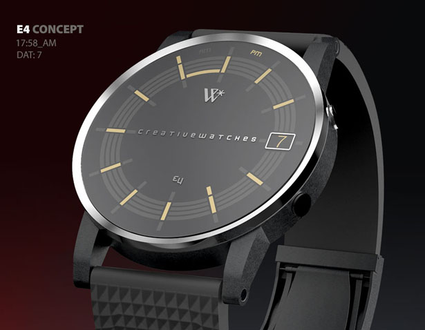 E4 Analogic Watch Concept by Walter Lance