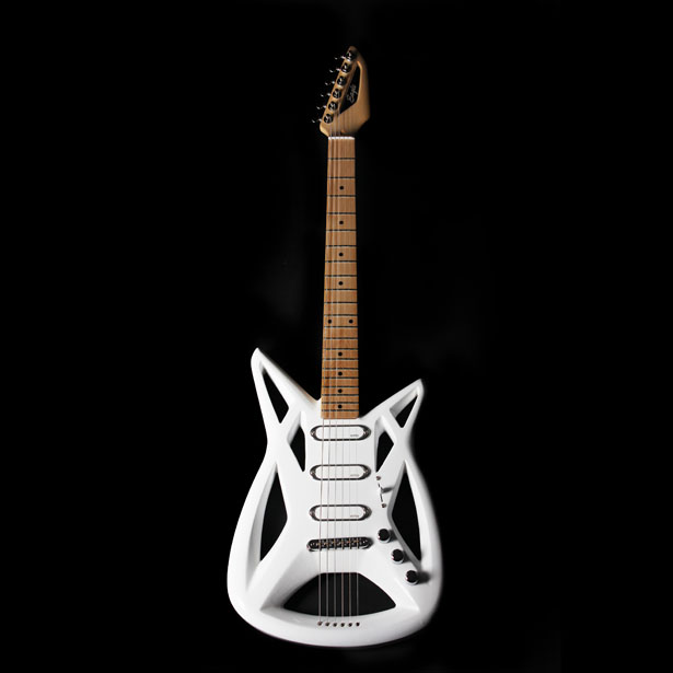 Eagle Electric Guitar by David Flores Loredo