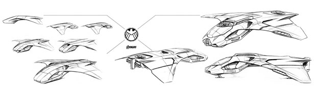 Eagle Eye Concept Jet for Hawkeye's Missions