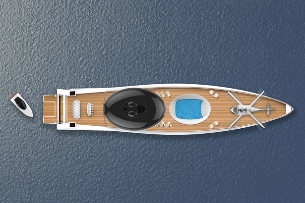 EAU Electric Yacht by Tjep
