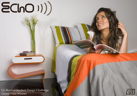 Echo Night Stand Storage for Your Room
