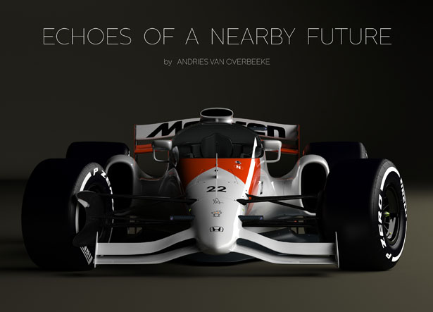 Echoes of a Nearby Future Part 3: Closed Cockpit McLaren-Honda Concept 2019 by Andries van Overbeeke