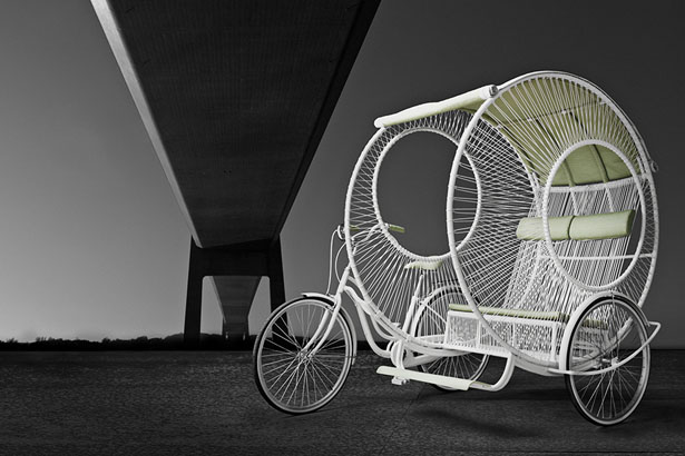 Eclipse Trishaw by Kenneth Cobonpue