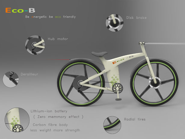 Eco-B Bike by Dhaneesh Neelakandan