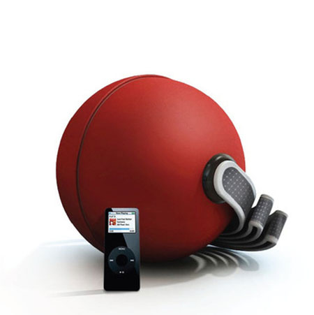Eco Ball Provides Distinct Music On The Go Getting Charged By Solar Energy
