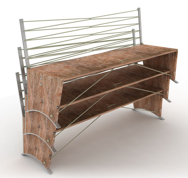 Eco Bench by DesignNobis