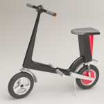 Eco-Friendly and Foldable Scooter City Cruiser Can Fit inside a Car's Boot
