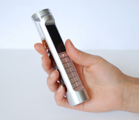 eco-friendly nokia phone with bio battery