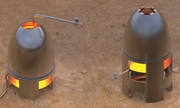 Eco Heater for Rural India by Pravin Ghodke