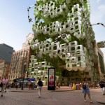 Eco Pods Architectural Design with Robotic Arms
