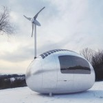 Ecocapsule : Low-Energy House in A Compact Form for Two Adults