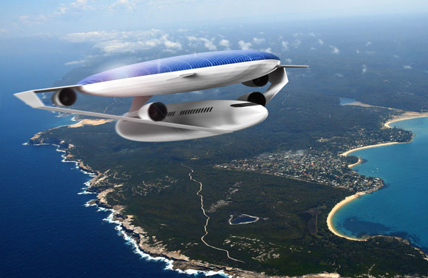 Ecologic Aircraft Design Concept by Daphnis Fournier