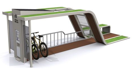 Econology Life Bicycle Shelter