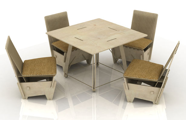 innovative furniture designs. Exellent Innovative Ecoseries Furniture Set By DesignNobis To Innovative Designs