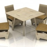 Innovative Ecoseries Furniture Set That Everyone Can Have