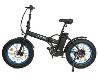 Reliable Ecotric 20″ Fat Tire Folding Electric Bike Costs Less Than $1000