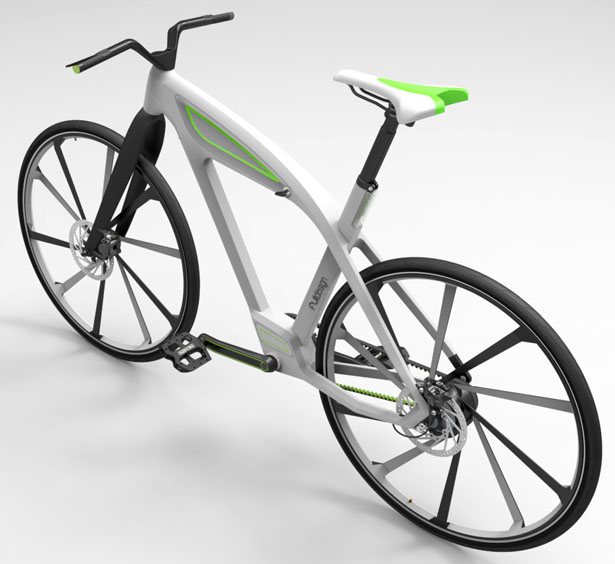 eCycle Electric Bike by Milos Jovanovic