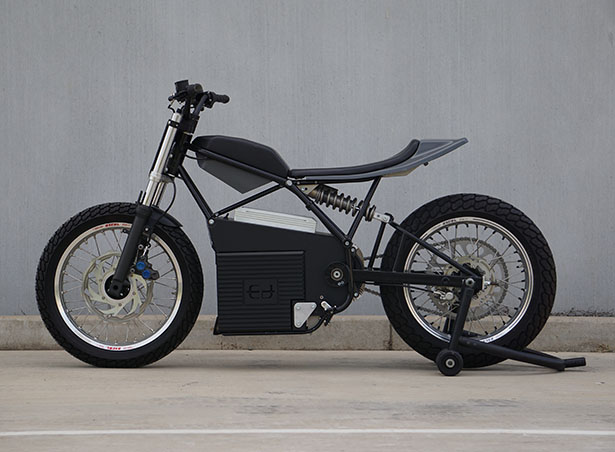 Ed Motorcycles Concept Z All-Electric Motorcycle Like Nothing Before