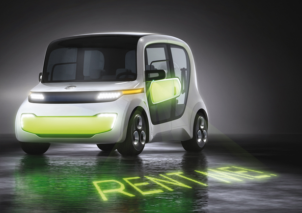 EDAG Light Car Sharing Concept