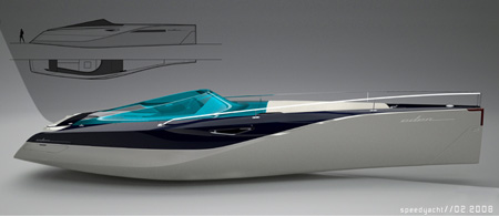 eden private luxury speed yacht