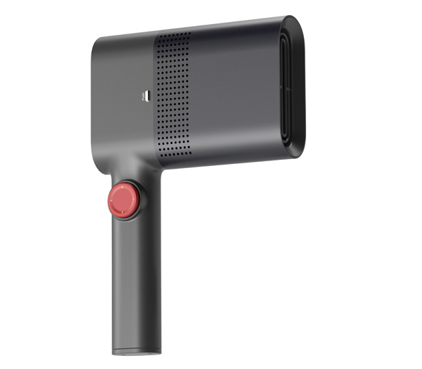 EDGE - a Hairdryer and Portable Clothes Iron Kit by Cho Yonghun, Lee Taekkyung, and Park Chanhong