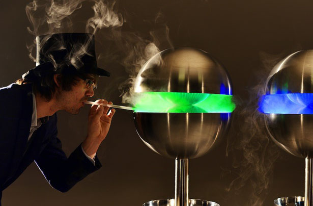 Edible Mist Machine by Charlie Harry Francis