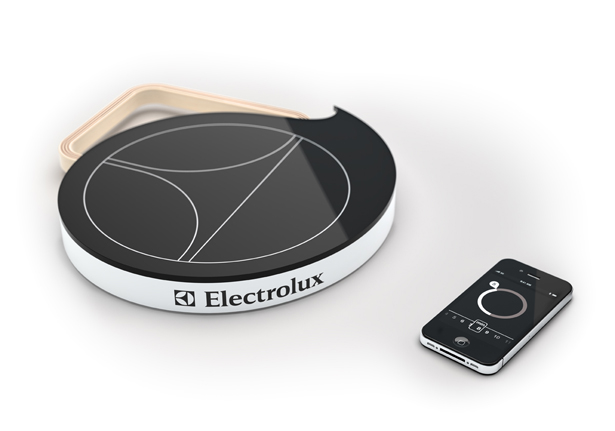 Mobile Induction Heat Plate - Top 8 Industrial Design Finalists of Electrolux Design Lab 2011