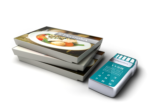 Onda Portable Microwave - Top 8 Industrial Design Finalists of Electrolux Design Lab 2011