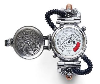 EER Steam-Powered Entropy Watch – a Pocket Watch for Your Wrist