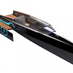 Odonata Electric Boat Concept for E3H by Tanguy Bihan