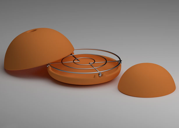 Egloo Candle Powered Heater by Marco Zagaria and Zen Molinari