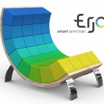 Ego Smart Armchair Features Colorful, Rearrangeable Cushions