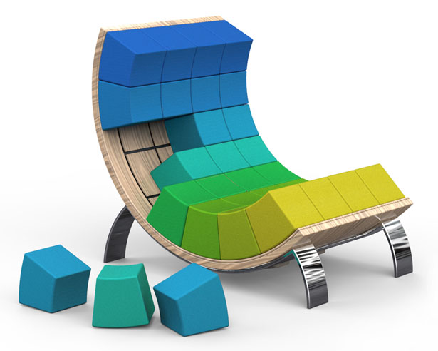 Ego Smart Armchair by Vasil Velchev
