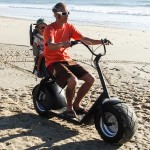 eGroov All-Road Electric Scooter Moves Easily Almost On Any Terrains