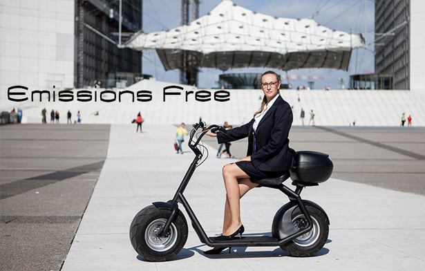 eGroov All-Road Electric Scooter Moves Easily Almost On Any