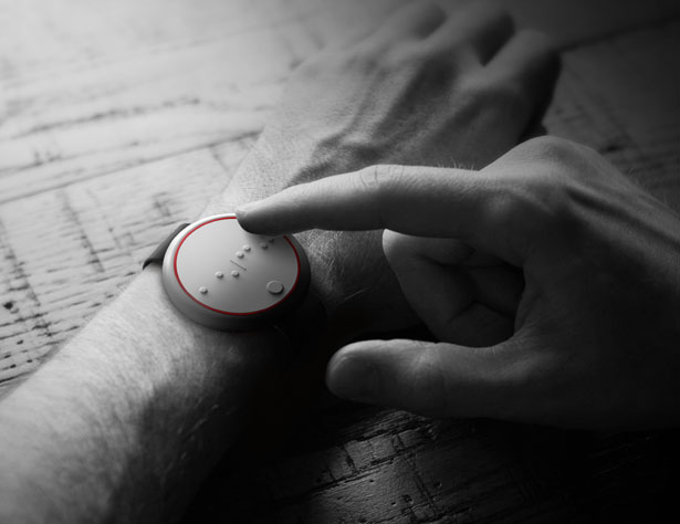 Ehsaas Watch for Visually Impaired People by Nikhil Kapoor