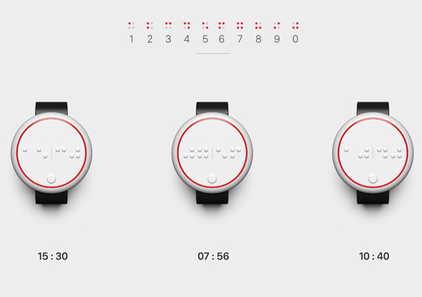 Ehsaas Concept Watch For Visually Impaired People Raises