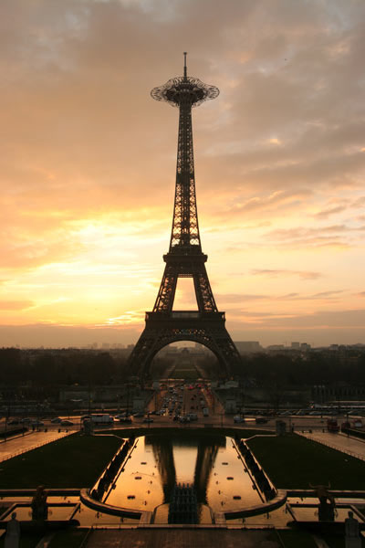 eiffel tower new concept