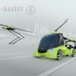 El-Assist Is A Complete Concept For Recharging And Supporting Electric Vehicles